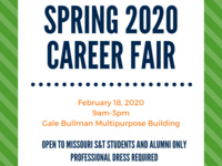Spring Career Fair 2020