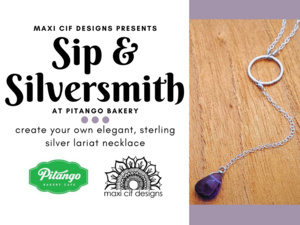 Sip & Silversmith- Necklace Making Workshop