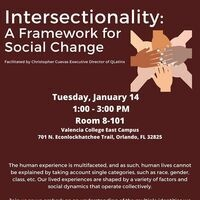 Intersectionality: A Framework for Social Change