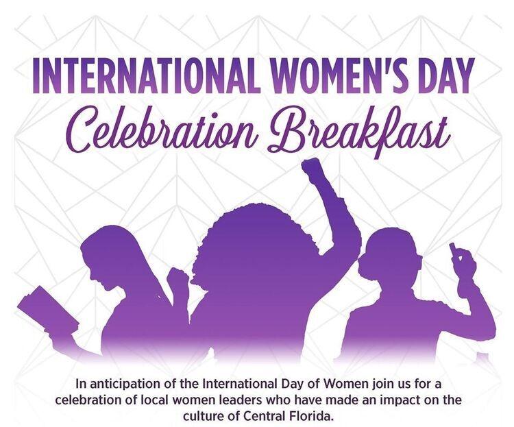International Women's Day Celebration Breakfast
