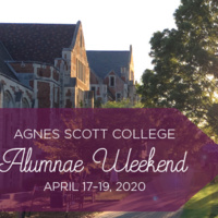 CANCELLED -- Alumnae Weekend 2020 -- EFFECTIVE 3/16/2020