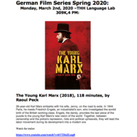 German Studies Film Series (with English subtitles) Part 2