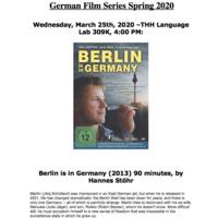 German Studies Film Series (with English subtitles) Part 3