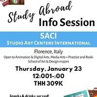 SACI Study Abroad Info Session (Florence, Italy)