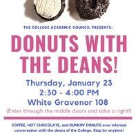 Donuts with the Deans