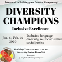 Diversity Champions: Inclusive Language: Diversity, Multiculturalism, Social Justice  | Multicultural Affairs