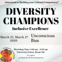 Canceled - Diversity Champions: Unconscious Bias | Multicultural Affairs