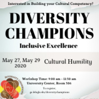 Diversity Champions: Cultural Humility | Multicultural Affairs