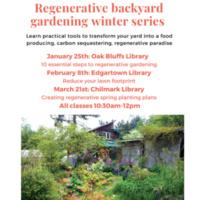 Regenerative Backyard Gardening Workshop