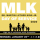 MLK Day of Service on Monday, January 20th.  Sign up on UNR.GivePulse.com