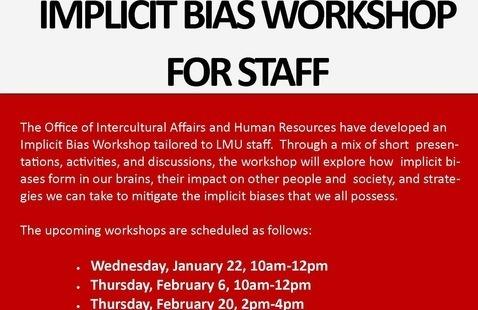 Implicit Bias Workshop