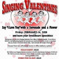 Santa Clarita Men of Harmony Singing Valentine Serenades