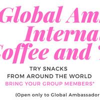 Global Ambassador Coffee & Tea Social