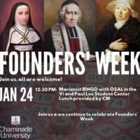 Founder's Week: Marianist BINGO