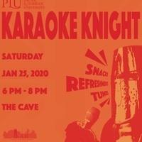Karaoke Knight Poster