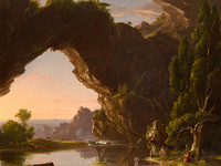 Thomas Cole, Evening in Arcady (1843), Wadsworth Atheneum