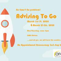 CANCELED - Advising to Go!
