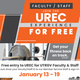 Free UREC Experience for UTRGV Faculty/Staff