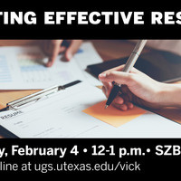 Effective Resume Writing Workshop