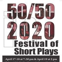 Simpson Productions Presents: Festival of Short Plays: 50/50 in 2020