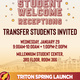 Transfer Student Welcome Reception