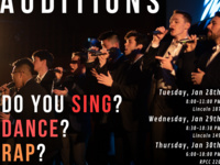 Last Call All-Male A Cappella Auditions