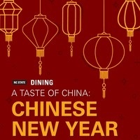 A flyer for A Taste of China.