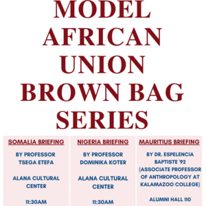 Model African Union Brown Bag Series: Mauritius Briefing