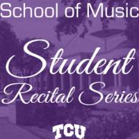 School of Music student recital series graphic