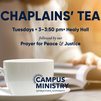 Chaplains' Tea with the Gender + Justice Initiative