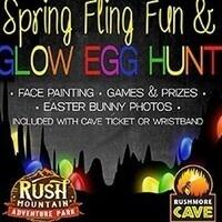Spring Fling & Glow Egg Hunt at Rush Mountain