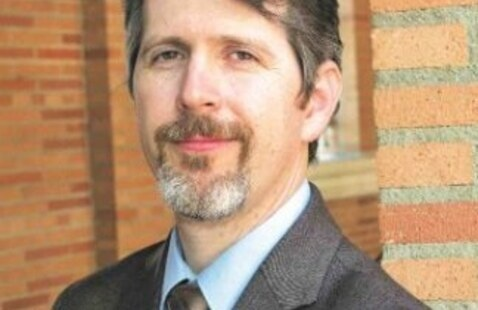 Photo of guest speaker - Dr. Gary Alder Jr., Assistant Professor of Sociology at Penn State University