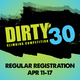 Dirty 30 Climbing Competition: Regular Registration