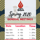 SGA General Meetings (Osceola)