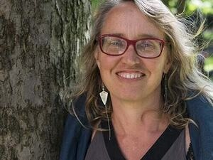 Coffee with Water Researcher Bonnie McElhinny