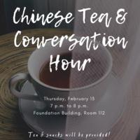 Chinese Tea & Conversation Hour