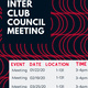 Inter Club Council (I.C.C.) Meetings