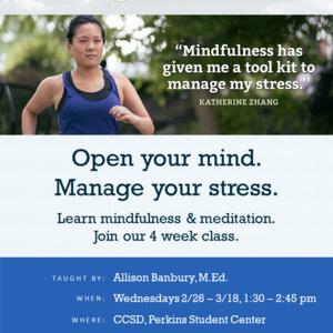 KORU Mindfulness Workshop