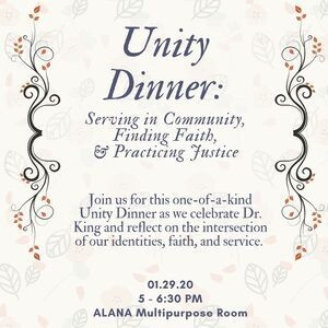 MLK Unity Dinner