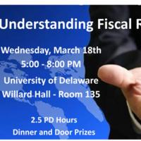 [POSTPONED] Understanding Fiscal Responsibility Secondary School Economics Teacher Training