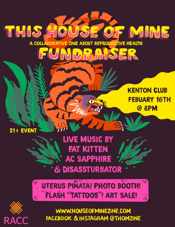 This House of Mine Zine Fundraiser