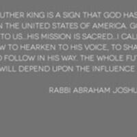 MLK Week Shabbat Service