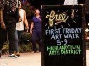 Highlandtown First Friday Art Walk