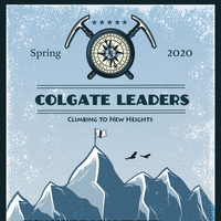 Colgate Leaders Climbing to New Heights Poster