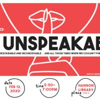LMU Speaks: The Unspeakable