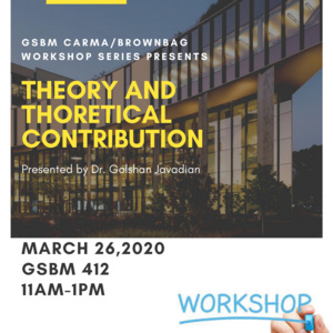 Theory and Theoretical Contribution