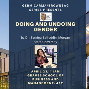 Doing and Undoing Gender
