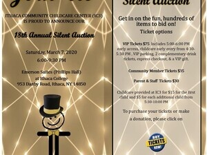 Ithaca Community Childcare Center's (IC3) 18th Annual Silent Auction