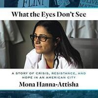 What the Eyes Don't See book cover with author photo
