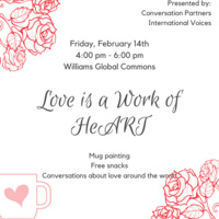 Love is a Work of HeART |International Student and Scholars
